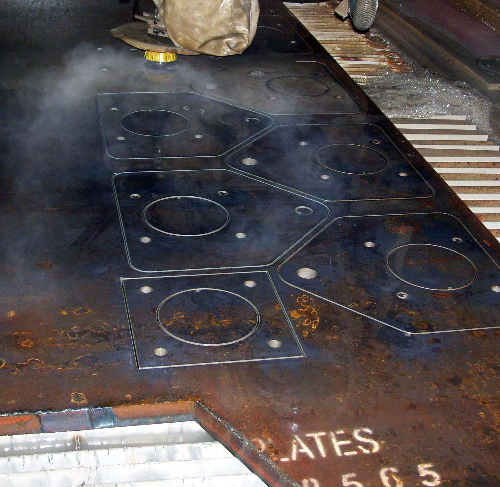 Cesco Magnetics | Waterjet Cutting