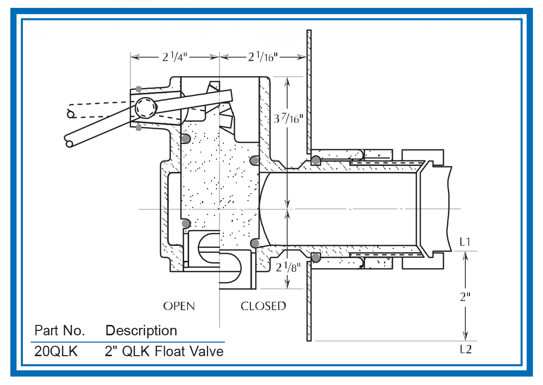 QLK valve diagram